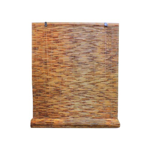 Radiance 3370728 Reed Woven Wood Bamboo Roll Up Window