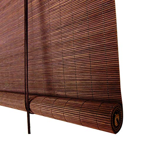 wenzhe roll up window blind roller blind bamboo curtain blinds waterproof mildew proof outdoor. Black Bedroom Furniture Sets. Home Design Ideas
